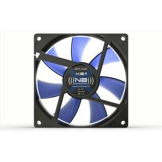 Noiseblocker XE-2 BlackSilent Fan, 92 mm, Silent Lüfter, Fan, Geräuscharm