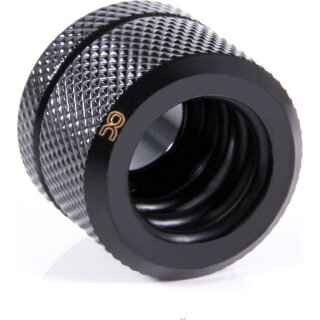 Alphacool Eiszapfen 14mm HardTube Anschraubtülle G1/4  - Deep Black