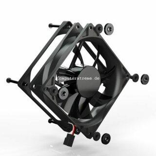Noiseblocker PE-P BlackSilentPRO Lüfter, 92 mm, Geräuscharmer Kühler, Fan