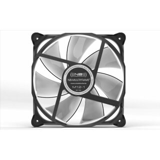 Noiseblocker M12-P NB-Multiframe Silent Lüfter,120 mm PWM Fan,geräuscharm Kühler