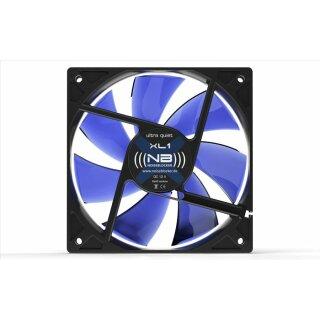 Noiseblocker XL-1 BlackSilent Fan, 120 mm Lüfter, Geräuscharmer Kühler, FAN