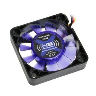 Noiseblocker BlackSilent Fan XM-2, 40 mm Lüfter, 10 mm geräuscharmer Kühler