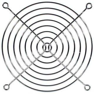 Lüftergitter 140 mm Chrom