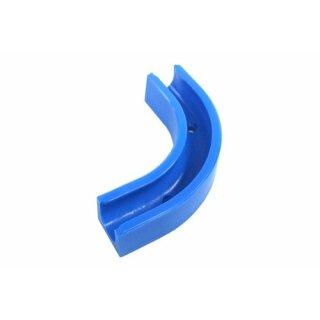 Winkelclip 90° für 10/8mm Schlauch - blau -