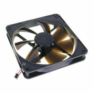 Noiseblocker PK-2 BlackSilentPRO Fan, 140 mm Silent Lüfter, geräuscharmer Kühler