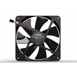 Noiseblocker PK-3 BlackSilentPRO Fan, 140 mm Silent Lüfter, geräuscharmer Kühler