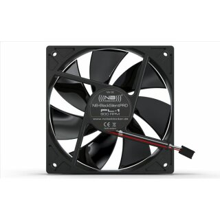 Noiseblocker PL-2 BlackSilentPRO Fan120 mm Lüfter, Kühler, Fan