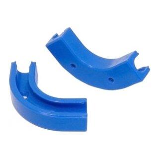 Winkelclip 90° für 8/6mm Schlauch - blau -