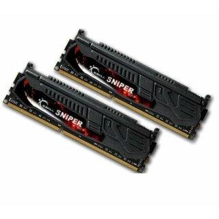 G.Skill Sniper DIMM Kit 8GB, DDR3-1866, CL9-10-9-28