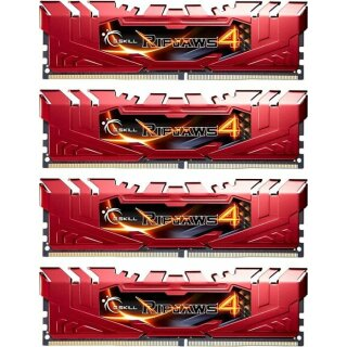 G.Skill RipJaws 4 rot DIMM Kit 16GB, DDR4-2133, CL15-15-15-35 (F4-2133C15Q-16GRR)