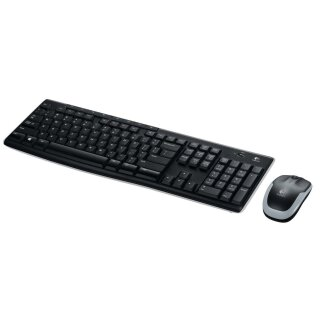 Logitech MK270, Wireless Desktop ,USB, schwarz