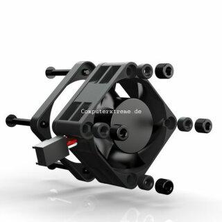 Noiseblocker PM-1 BlackSilentPRO Lüfter,40 mm geräuscharmer Kühler,FAN,20mm dick