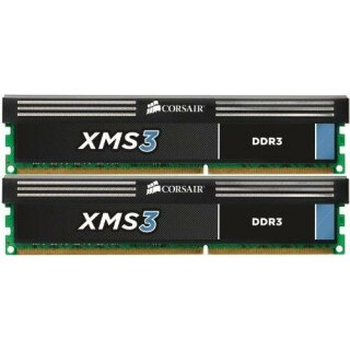Corsair XMS3 DIMM Kit 16GB, DDR3-1600, CL11