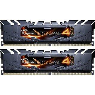 G.Skill RipJaws 4 schwarz DIMM Kit 8GB, DDR4-3200, CL16-16-16-36