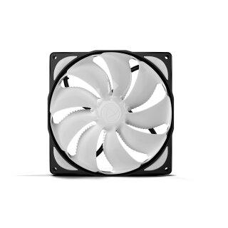 Noiseblocker eLoop B14-PS Fan 140 mm PWM Lüfter, Silent Kühler, Fan