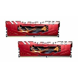 G.Skill RipJaws 4 rot DIMM Kit 8GB, DDR4-2666, CL15-15-15-35