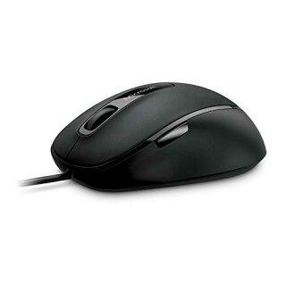 Microsoft Comfort Mouse 4500 kabelgebundene Maus in Schwarz